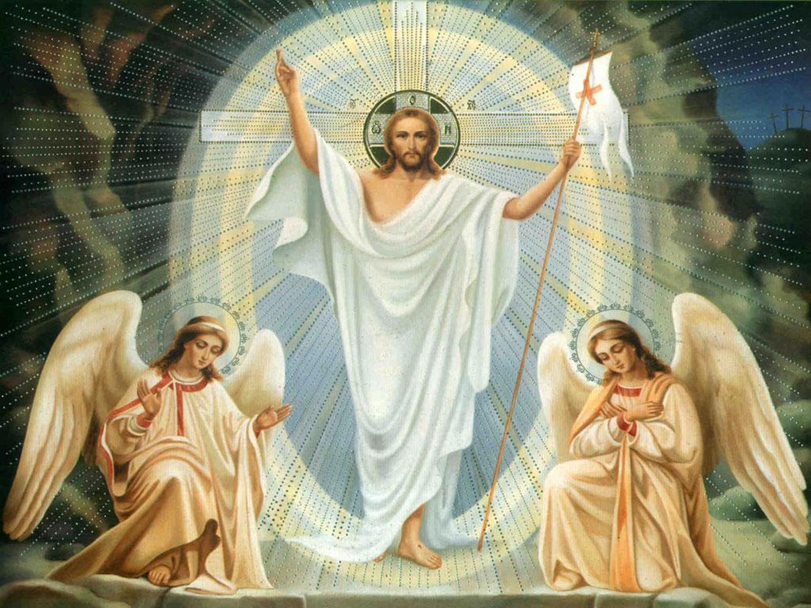 нашем христос воскресе картинки ангелы разноцветных листьев помогают