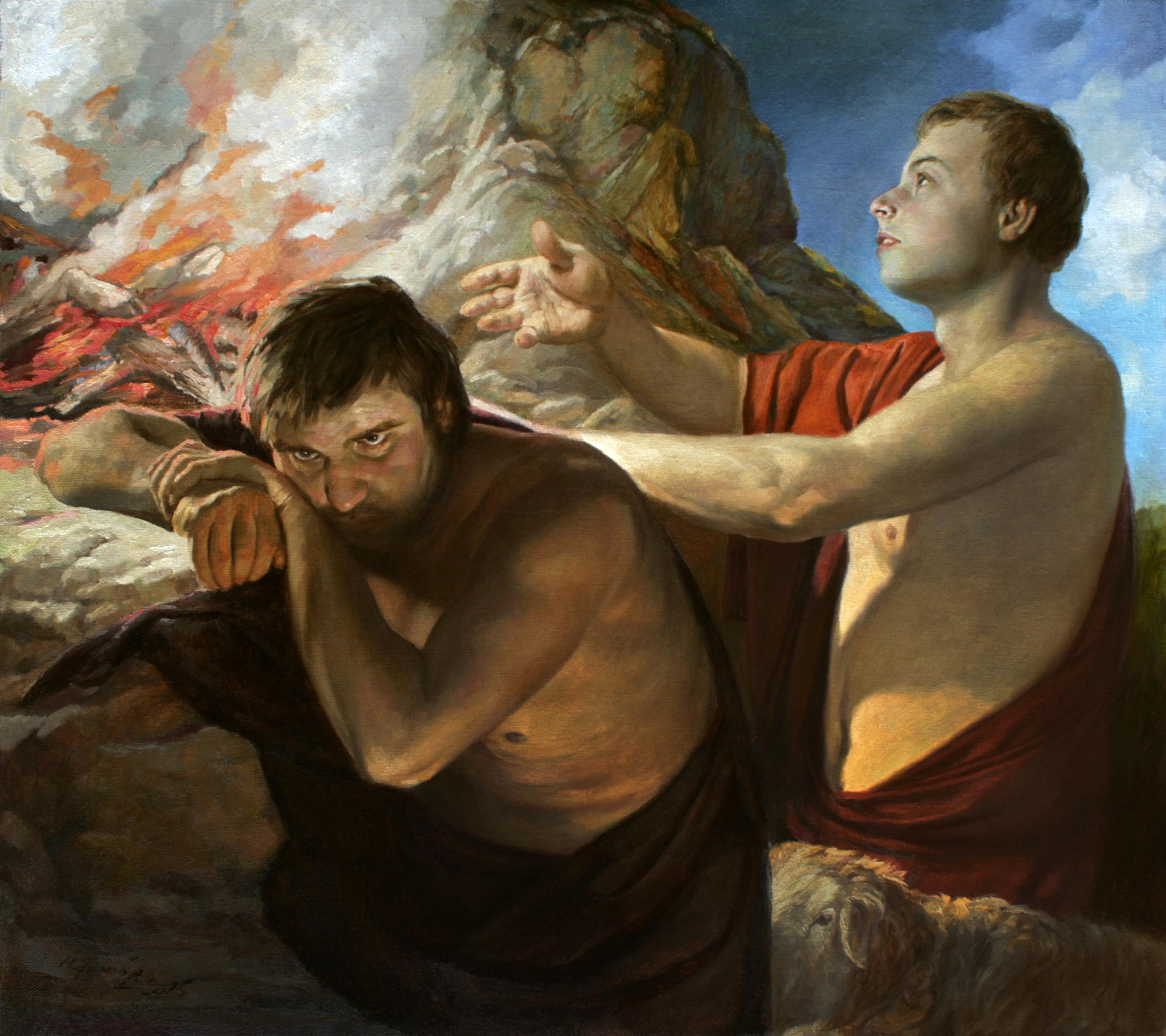 Каин и авель картинки